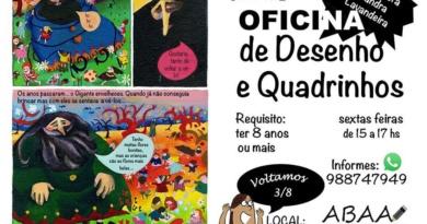 Oficina de Desenhos e Quadrinhos