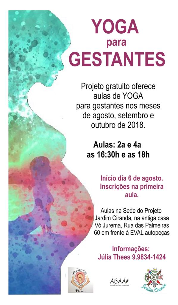 Yoga para Gestantes (cartaz)