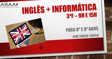 Inglês + Informática com Teresa Teófilo