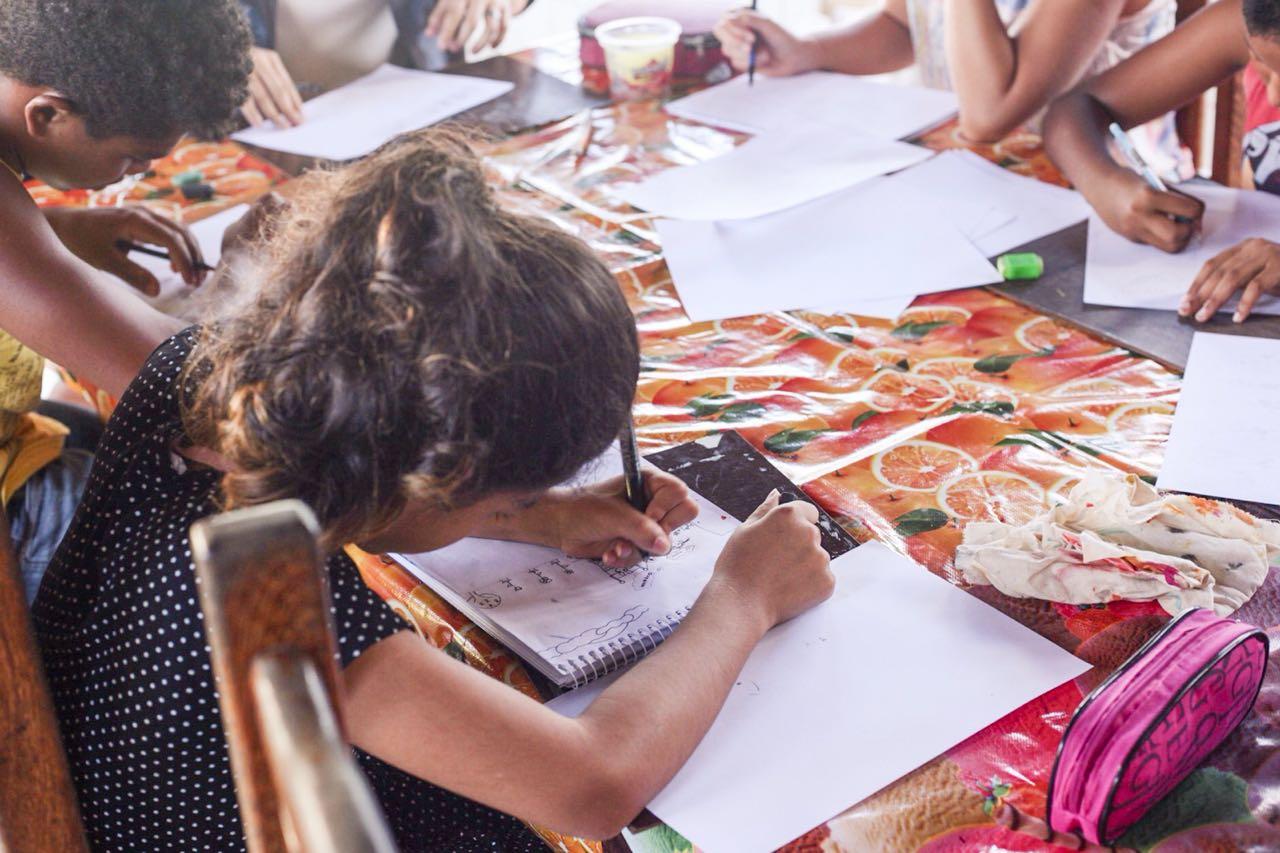 Curso de desenho e histórias em quadrinhos com prof Sandra (3)