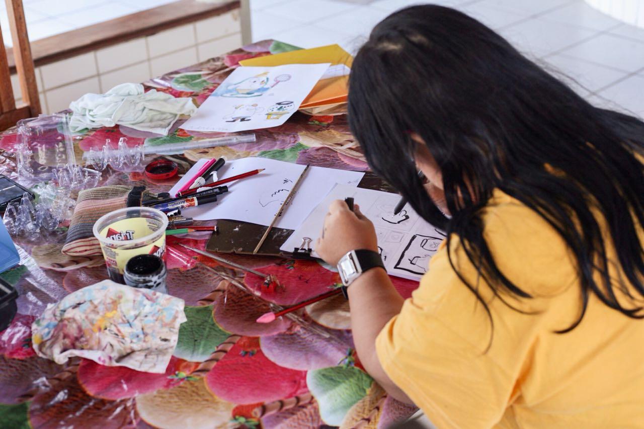 Curso de desenho e histórias em quadrinhos com prof Sandra (9)