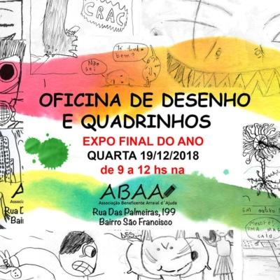 Oficina de Desenho e Quadrinhos (expofinal)